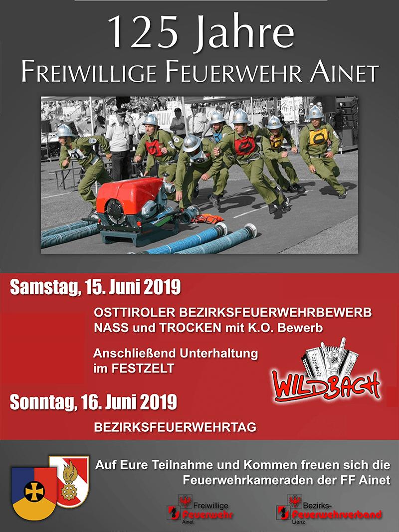 Plakatinformation BFB Ainet 2019